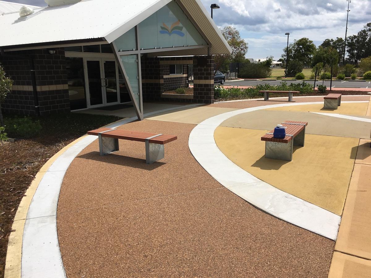 Decorative Non Skid Pathway Coating Treendale Primary